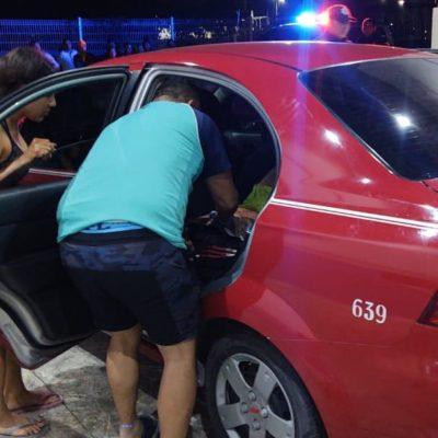 TIROTEAN A MENOR EN CANCÚN: Adolescente de 14 años es baleado en la Región 253 y lo trasladan en taxi al hospital