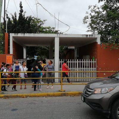 Un director de escuela muerto por paro cardiaco y suspensión de clases en otro plantel por robo de cables del tendido eléctrico, el saldo negativo del reinicio del ciclo escolar en Cancún