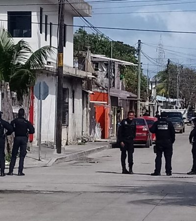 DIEZ CRÍMENES EN DIEZ DÍAS: Ejecutan a balazos a una mujer en el interior de un presunto lugar de venta clandestina de alcohol en la Región 100 de Cancún