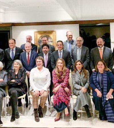 Se reúne Victor Mas con empresarios e inversionistas de la Riviera Maya en Fitur