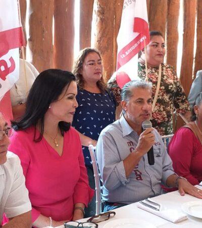 """""""ESTÁN DORMIDOS EN SUS LAURELES"""": Cuestiona aspirante a dirigir Morena falta de resultados de Alcaldes de su partido en Quintana Roo; """"no permitiré su reelección"""", dice"""