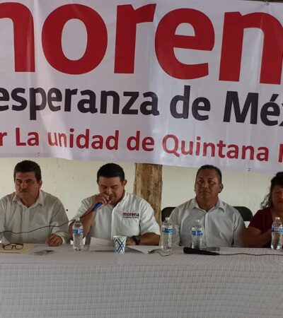 Rompeolas | Frenan (por lo pronto) 'golpe de estado' en 'yeidckolistas' en Morena-QR