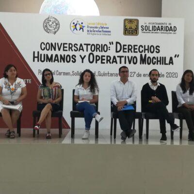 """Abren debate sobre implementación del """"Operativo Mochila"""" en Solidaridad; padres de familia consienten, pero especialistas lo rechazan"""