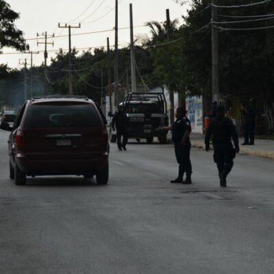 Mantienen operativo de búsqueda de reo fugado en Cancún