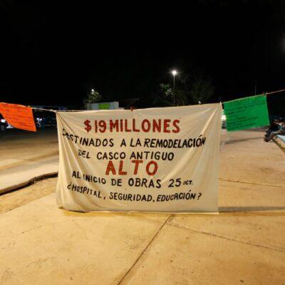 Inclusión en la toma de decisiones y transparencia, principal petición en Puerto Morelos ante proyecto de remodelación del casco antiguo del poblado