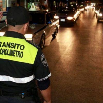 AÚN NO ENTRAN EN VIGOR CAMBIOS EN EL ALCOHOLÍMETRO: Quienes caigan en los retenes, aún no podrán pagar una multa económica para evitar 'El Torito' en Cancún