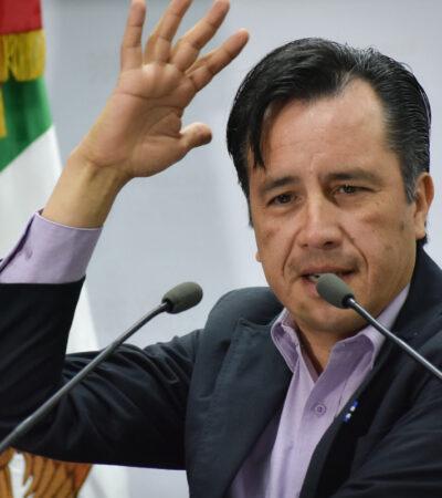 Ignoraba Cuitláhuac parentesco de su fiscal con operadora de Los Zetas en Veracruz, pero está 'limpia', asegura
