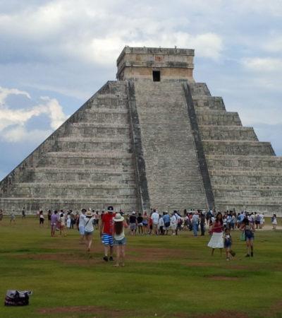 Mexicanos con domicilio en Yucatán no pagarán cuotas para ingresar a Chichén Itzá y 5 zonas más