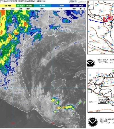 PRONÓSTICO DEL CLIMA: Prevén Mucho calor durante el día en Quintana Roo