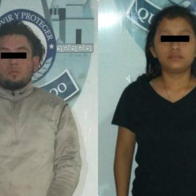 Detienen a una pareja tras movilización policiaca en la SM 75 acusados de haber disparado contra policías de Cancún