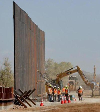 Celebra Trump fallo judicial favorable para construir gran parte del muro con México