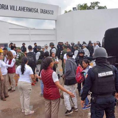 Aseguran a centroamericanos tras escapar de estación migratoria en Villahermosa
