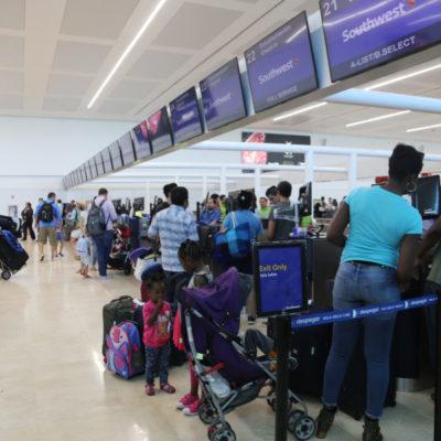 Aun sin afectaciones vuelos a Cancún procedentes de Estados Unidos