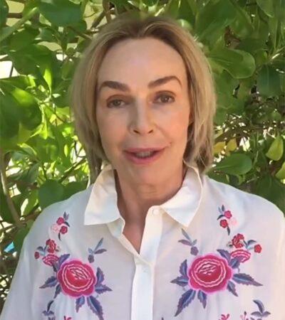 Arma revuelo actriz rusa que 'se desconectó' del mundo en Cancún