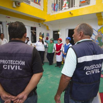 Anuncian 'megasimulacro' por fenómenos hidrometeorológicos este lunes en Cozumel