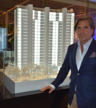 Presentan avances del condominio de lujo SLS Marina Beach en Cancún
