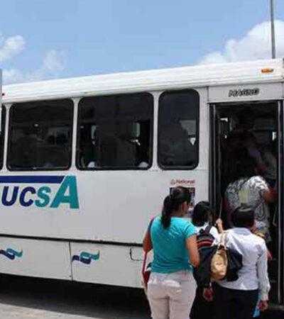Licitación del transporte público en Solidaridad incluirá mayor cobertura en zona de universidades, hospitales y rutas alimentadoras