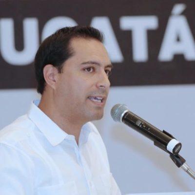 Confirman asistencia ocho gobernadores al Primer Informe de Gobierno de Mauricio Vila
