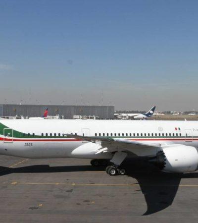Regresará a México el avión presidencial tras fallidos intentos de venta… será exhibido