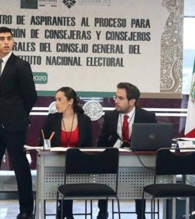 Arrancan inscripciones para los interesados en convertirse en consejeros electorales del INE… se apuntan tres