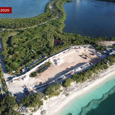 CRONOLOGÍA GRÁFICA | ASÍ FUE EL DESMONTE DEL PREDIO PARA EL HOTEL RIU CANCÚN: Imágenes aéreas de la Zona Hotelera a lo largo de tres años para detonar polémico proyecto