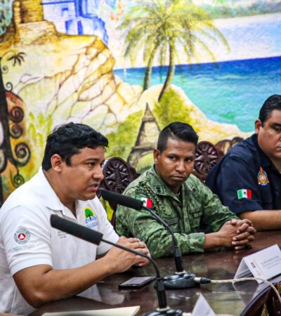 Instalan en Isla Mujeres el Comité Especializado en Incendios Forestales Temporada 2020