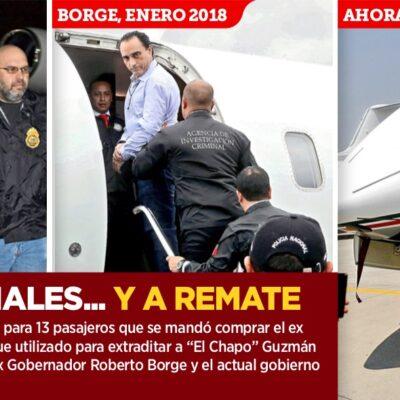 LUJOS, CRIMINALES… Y A REMATE: La historia el avión que compró Murillo Karam por 20 mdd y en el que viajaron 'El Chapo' y Roberto Borge