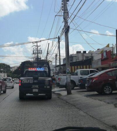 Asaltan casas de cambio en centro de Cancún