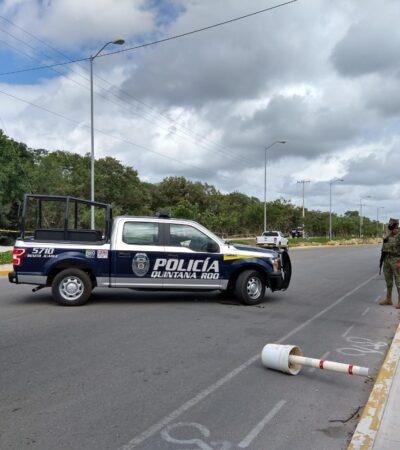 RAFAGUEAN A DOS HOMBRES EN CANCÚN: Un muerto y un herido en ataque en la Región 249