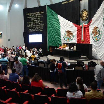 Declaran apertura del segundo periodo de sesiones de la XVI Legislatura de Quintana Roo