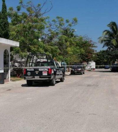 Disparan contra vivienda del fraccionamiento Villamar 1 en Playa del Carmen