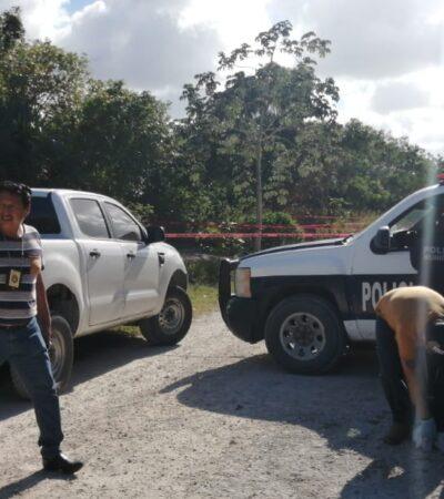 Hallan a un  joven ejecutado en zona continental de Isla Mujeres