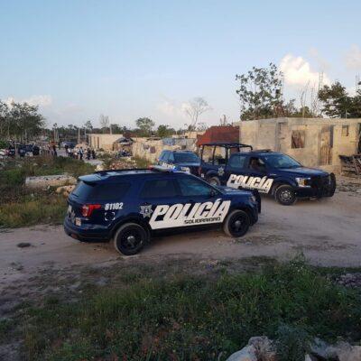 Asesinan a hombre a balazos en Playa del Carmen; hay dos detenidos
