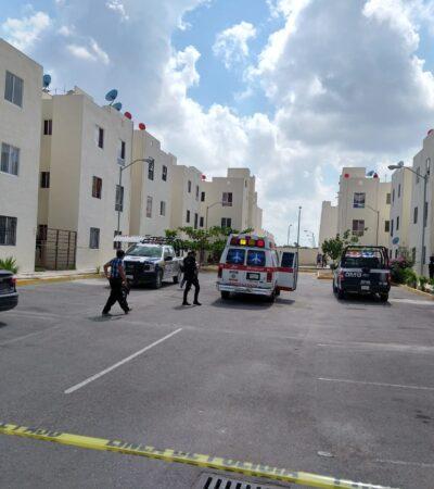 LES ABRIÓ LA PUERTA Y LE DISPARON A QUEMARROPA: Matan a mujer en su departamento en la Región 251 de Cancún