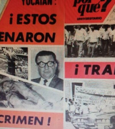 A 46 años del asesinato de 'El Charras', yucatecos afirman que fue crimen de Estado y que es un mártir olvidado por la historia oficialista