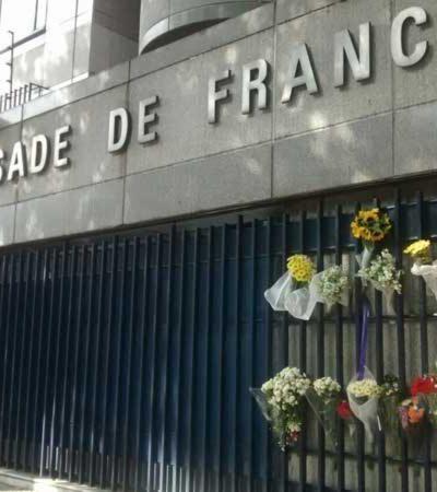 Aclara embajada francesa que no hay parentesco con hombre asesinado en Cancún