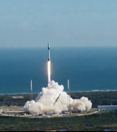Ponen en órbita nanosatélite mexicano