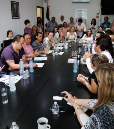 En el tema de los contenedores de basura, se buscará un punto que beneficie a los empresarios, municipio y legislativo: Cristina Torres