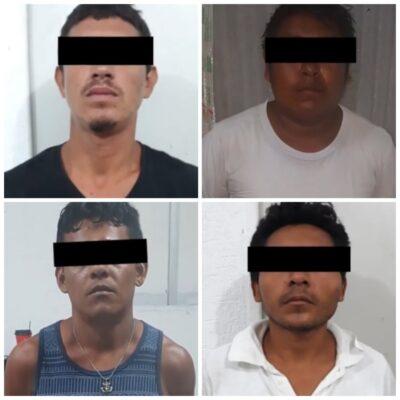 Dan cárcel a dos de seis extorsionadores detenidos en 2018