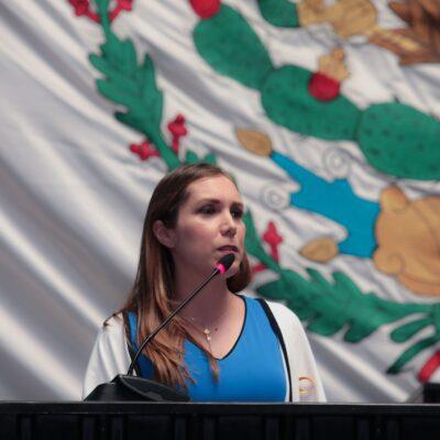 Se inconforma Atena Gómez porque diputados excluyeron su propuesta de modificar el artículo 135 de la Ley de Hacienda de BJ