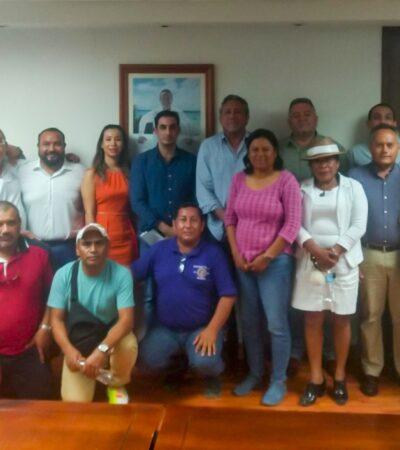 Tras la cancelación del arribo de dos cruceros en Mahahual, prestadores de servicios pactan tregua de 30 días para resolver conflicto por el transporte de turistas