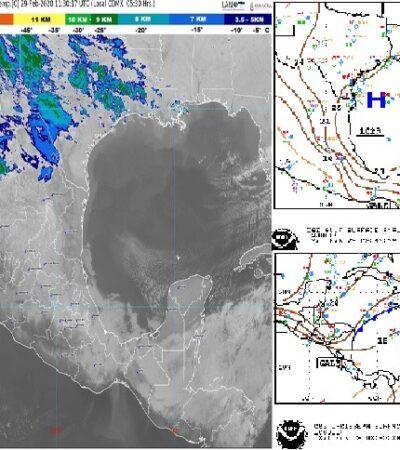 PRONÓSTICO DEL CLIMA: Caluroso con viento fuerte este sábado en Quintana Roo