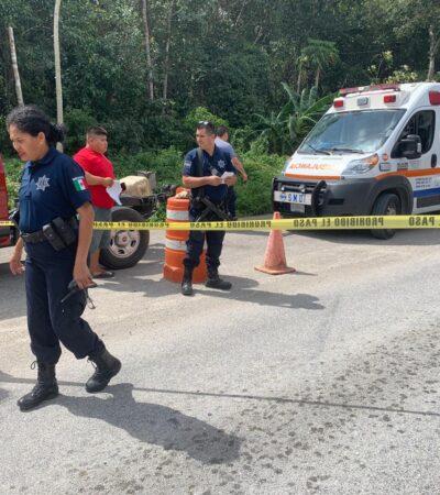 Muere hombre de infarto rumbo al hospital en Playa del Carmen