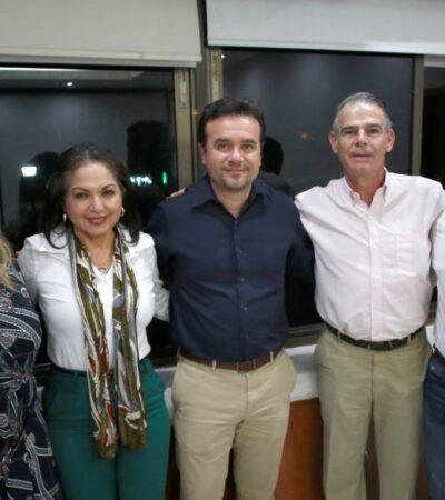 Refuerza Pedro Joaquín alianza con Acotur para favorecer la promoción turística de Cozumel