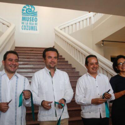 Encabeza Pedro Joaquín la reinauguración del Museo de Cozumel