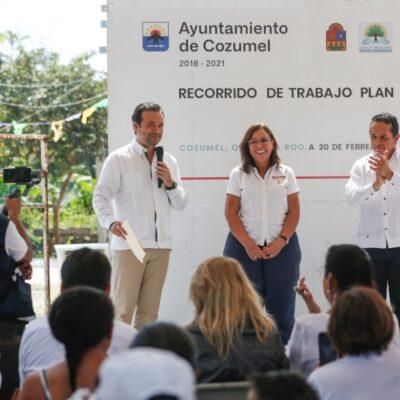 Presentan proyecto de instalación de 6 mil 200 luminarias que beneficiará y mejorará la calidad de vida de habitantes de Cozumel