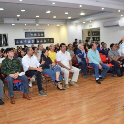 Imparten conferencia magistral sobre aviturismo en Isla Mujeres por el Día Mundial de los Humedales