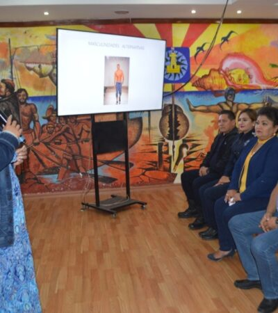 """Imparten el curso """"Masculinidad alternativa"""" para sensibilizar a funcionarios sobre la violencia de género en Isla Mujeres"""