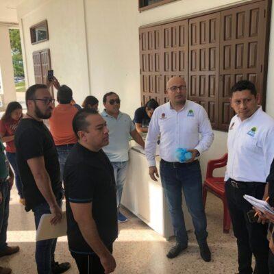 Exigen extrabajadores del Seguro Popular pago de su liquidación en Chetumal