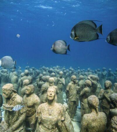 Museo Subacuático de Arte de Cancún no cuenta con recursos ni permisos para sumergir piezas durante 2020